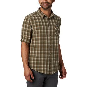 Columbia Triple Canyon Skjorte Herrer, fossil mini tonal plaid